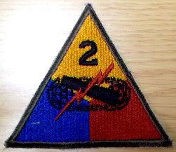 Patch, Division, 2nd Armored
