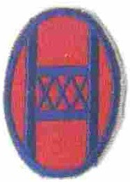 Patch, Division, Infantry, 30th