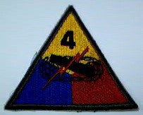Patch, Division, 4th Armored