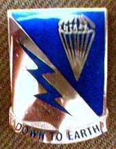 Crest, 507th PIR, Regimental, each