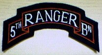 Patch, Ranger Btn. Scroll, 5th