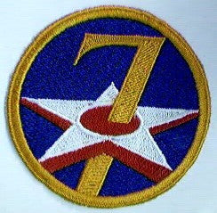 Patch, Air Force, 7th