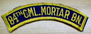 Patch, 84th Chemical Mortar Btn.