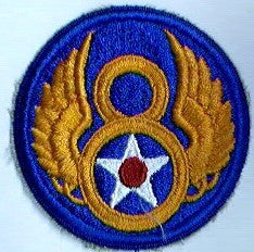 Patch, Air Force, 8th