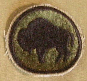 Patch, Division, Infantry, 92nd