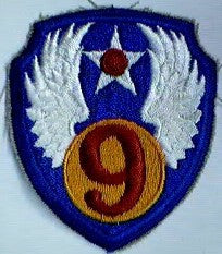Patch, Air Force, 9th