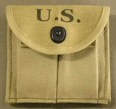 Pocket, Magazine, Double-Web, Carbine, Cal 30, M-1, Army