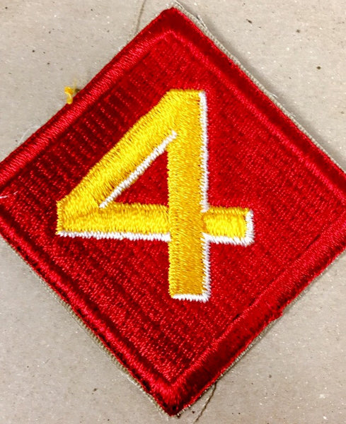 Patch, Division, Marine, 4th