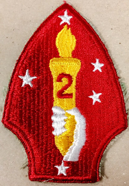 Patch, Division, Marine, 2nd