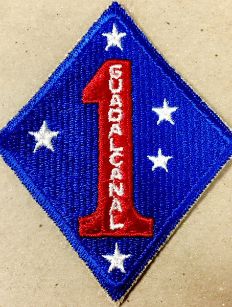 Patch, Division, Marine, 1st (Guadalcanal)