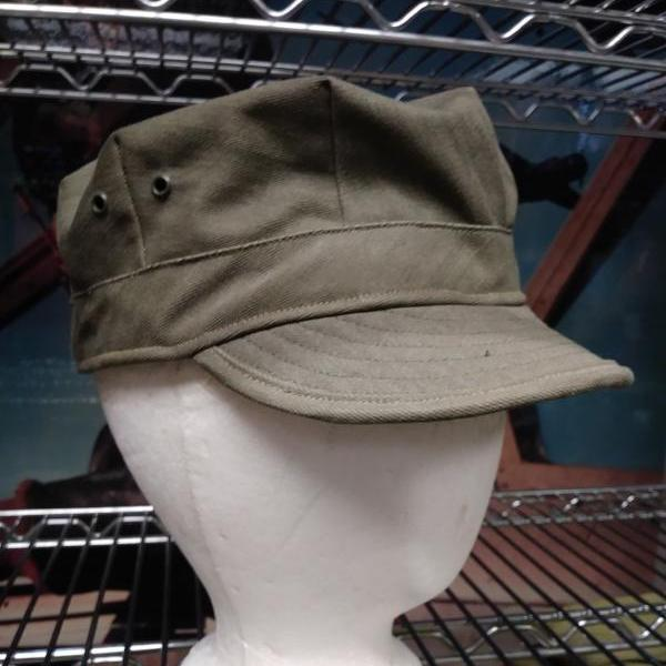 Cap, Herringbone Twill, Cast Iron (medium shade), CLOSEOUT