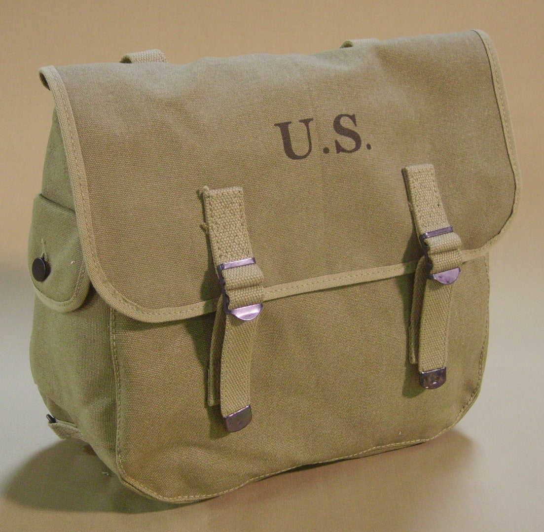 Bag, Field, Canvas, M1936 CLOSEOUT sold as-is. All sales final.