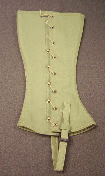 Leggings, Canvas, M1910, Pea Green