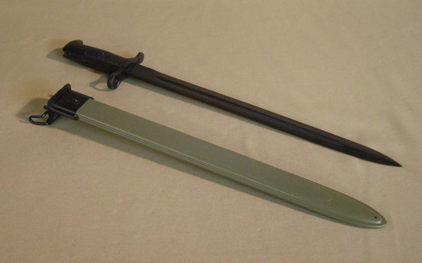 Bayonet and Scabbard, M1905, WWII 16""