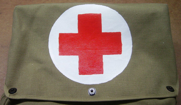 Medical Red Cross Paint Service