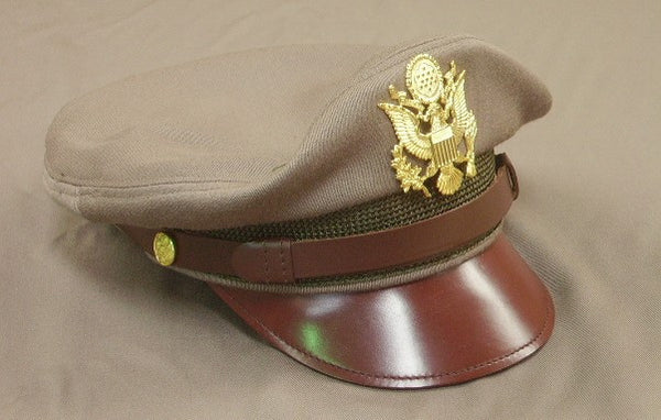 Cap, Service, Pink Drab, Officer's, Aviator