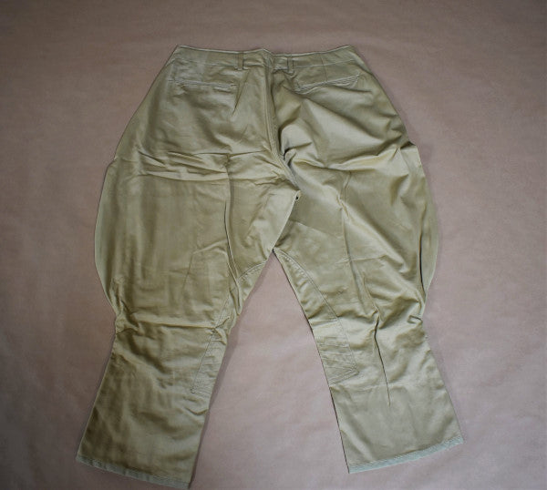 Breeches, Cotton, Khaki