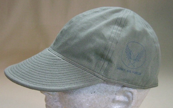 Cap, Summer, Mechanic's Type A-3 AAF Light Shade HBT