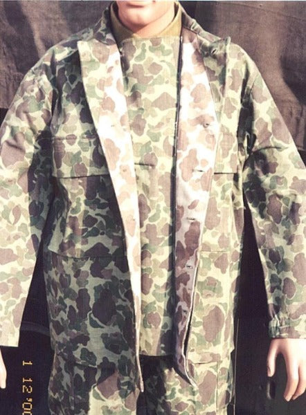 Jacket, Herringbone Twill, Camouflage, Army