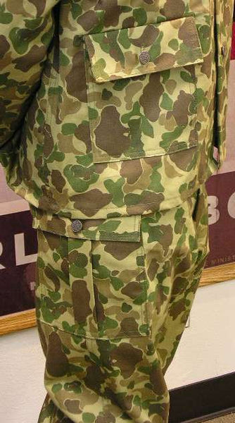 Trousers, Bay of Pigs, Camo, CARGO pocket style. CLOSEOUT sold as-is. All sales final.