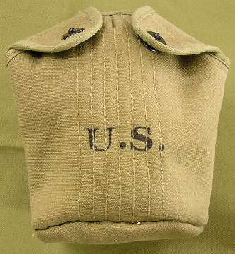 Cover, Canteen, Dismounted, M1910, OD#3 CLOSEOUT sold as-is. All sales final.