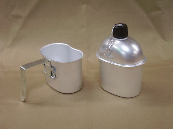 Canteen and Cup, Replica WWII