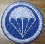 Patch, Cap, Lt Blue, White Para