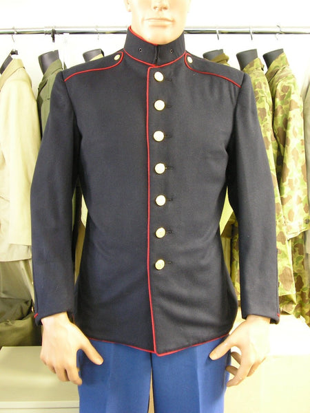 Coat, Service, Dress Blue, USMC WWII