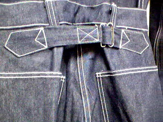Trousers, Work, Blue Denim, M1937