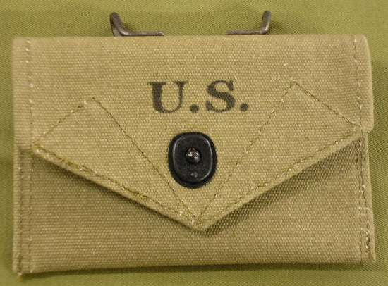 Pouch, First Aid Packet, M1942, OD#3..