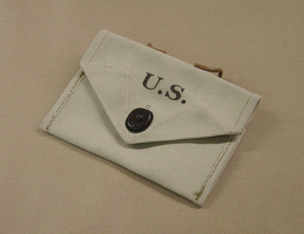 Pouch, First Aid Packet, M1942, Bleached Khaki