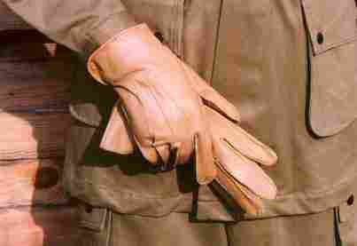 Gloves, Horsehide, Riding, Unlined, M1942