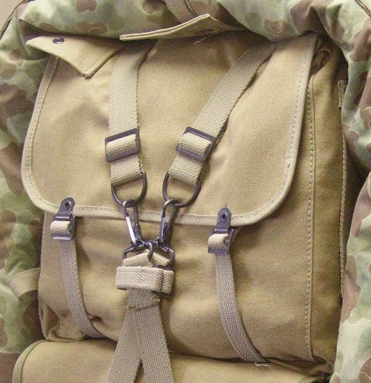 Haversack, USMC, M1941 (Light Edge)