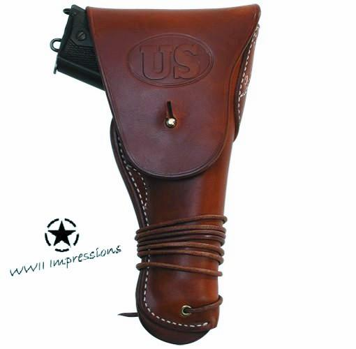 Holster, Leather, 45 ACP,  M1916