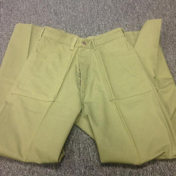 Trousers, Utility, USMC, Green Patch Pocket, P41 CLOSEOUT sold as-is. All sales final.