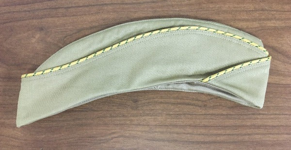Cap, Garrison, Cotton, Khaki, Women's, Enlisted
