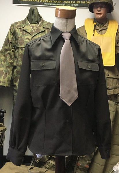 Waist (Shirt), Dark Shade Officer's, Women's, Army