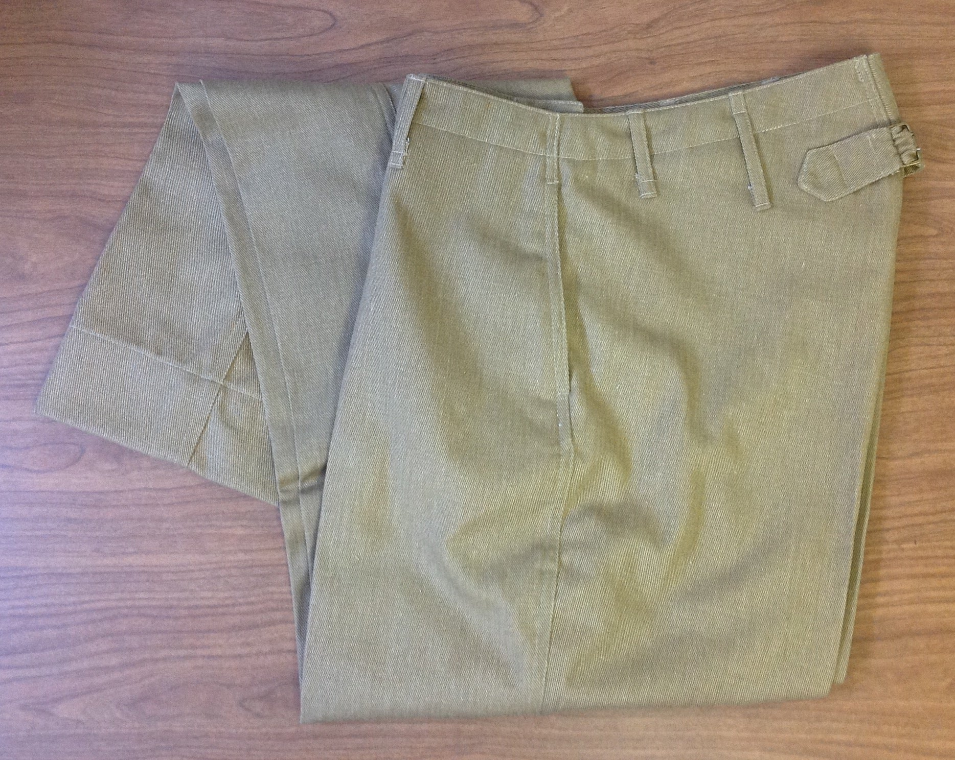 Trousers, Service, Summer, USMC WWI