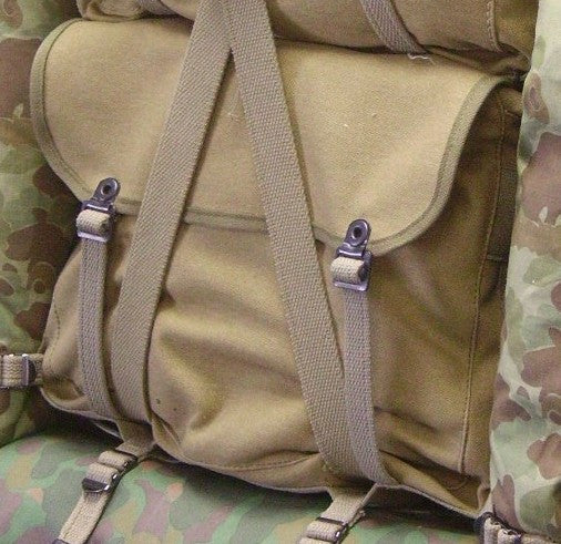 Knapsack, USMC, M1941 (Light edge)