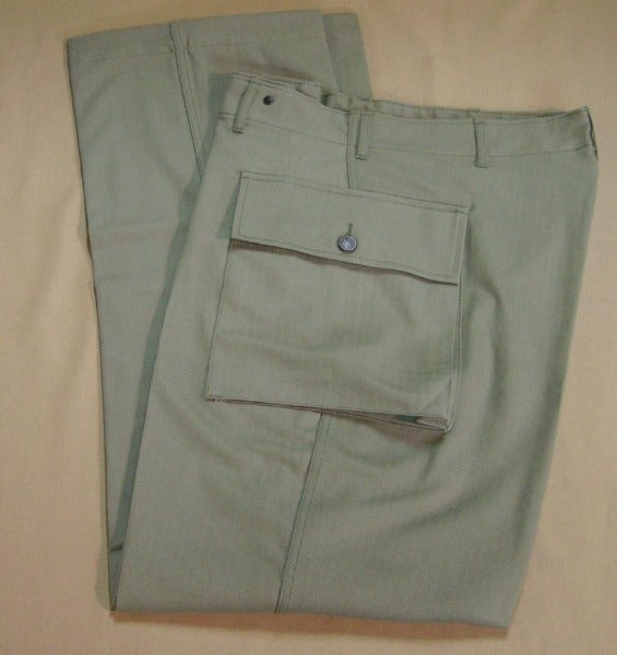 Trousers, Herringbone Twill, Light Shade, M42, Army