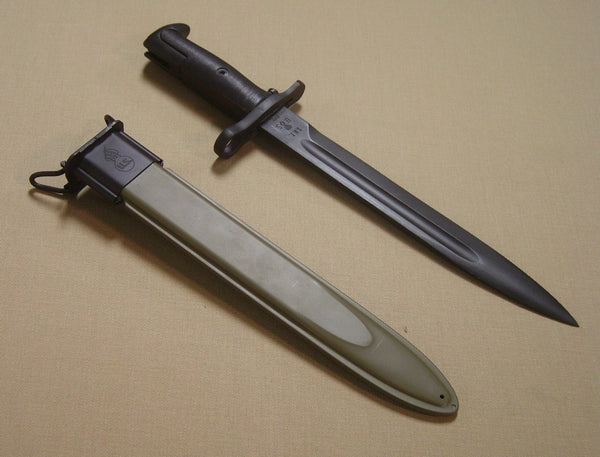 Bayonet and Scabbard, M1  10""