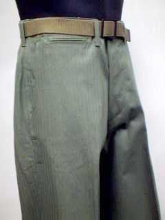 Trousers, Herringbone Twill, M1941, Army