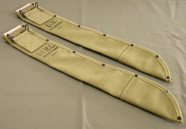 Sheath, Canvas, Machete, Repro, US Army