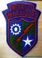 "Patch, 5307th Composite Unit, ""Merrill's Marauders"""