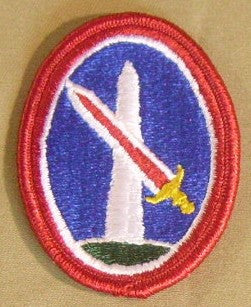 Patch, Military Dist. Of Washington