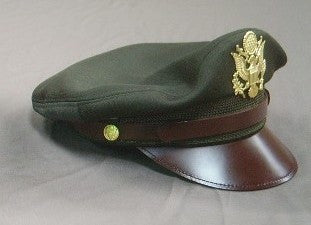 Cap, Service, Dark Shade, Officer's, Aviator