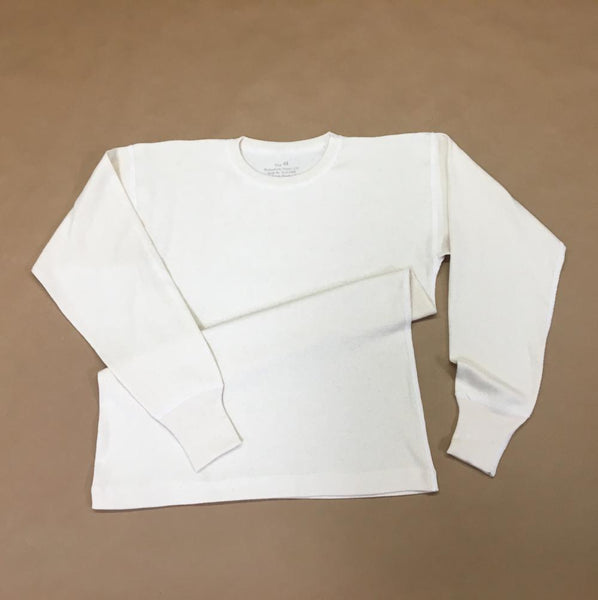 Undershirt, Winter, Off-white