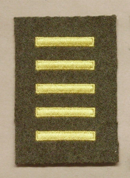 Patch, Overseas Bar, Enlisted