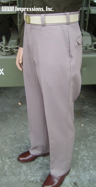 Trousers, Dress, Regulation, Officer's, Pink (TAMU used) CLOSEOUT sold as-is. All sales final.