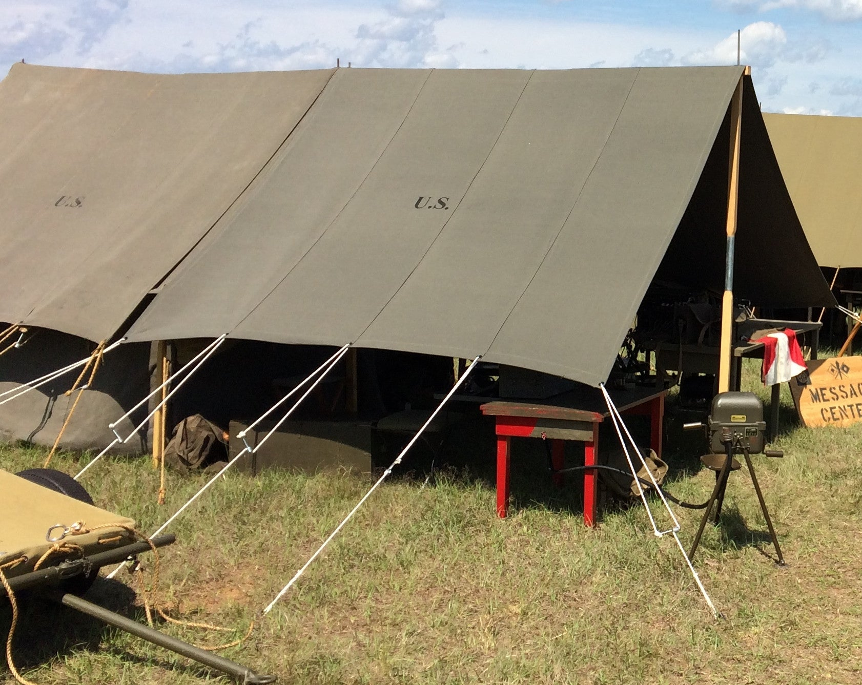 Fly Tent Small Wall & Fly Tent Small Wall u2013 WWII Impressions Inc
